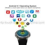 teléfono elegante del reloj de 3G WiFi con el monitor Dm368 del ritmo cardíaco