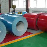 El color de techos de aluminio recubierto de materiales de construcción de la bobina de bobinas laminadas en caliente
