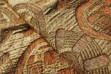 Цветастая ткань софы типа жаккарда синеля