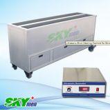 De los portamaletas máquina ultrasónica oculta del limpiador de largo con el tanque de la limpieza y de enjuague