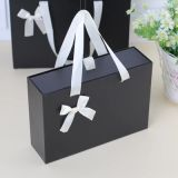 Spot Cajón Negro Caja de mango, la Plaza de la caja de regalo, Caja de regalo, Papel, Caja de regalo, calcetines caja de embalaje.