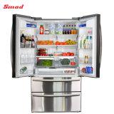 542L дома используются французские двери холодильник с лампа Блокировка .