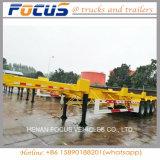 Focus - Terminal de fabricantes de vehículos de remolque, el puerto, la caída del chasis de remolque de cubierta