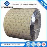 0.30-0.55mm d'épaisseur de la bobine en aluminium à revêtement de couleur, 3003 H19