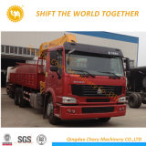 3ton-16ton Hydraulic Truck Cranium with Telescopic Boom