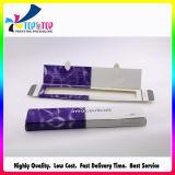 Складная коробка упаковки коробки внимательности кожи Cream упаковывая бумажная белая