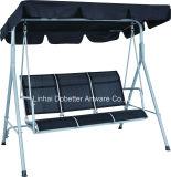 3 de TextielStoel van de Schommeling van de Tuin Seater met Zetel Comfrotable