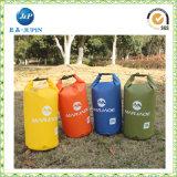 乾燥した袋のバックパック、カスタムロゴの防水海洋のパックの乾燥した袋(JP-WB026)を泳ぐ500d PVC防水シート