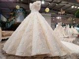 Aoliweiya último diseño nupcial vestido de bola de boda
