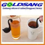Carton de forme de cygne infuser le thé en silicone
