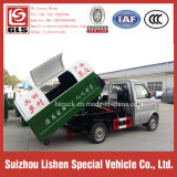 2 Ton 4 * 2 Swing Arm Rubbish Picking Trucks 3 Cbm Small Garbage Truck