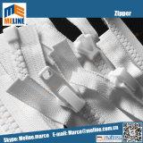 工場価格#10 Vislonのジッパー、開放型1か2方法のプラスチックジッパー、プラスチック自動ロックのスライダ
