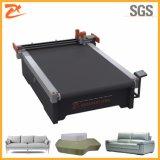 CNC automática de tejido de piel no cubierta de sofá Dieless láser Máquina de corte 2516