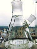 18inch 고도 분리가능한 유리제 비커 두 배 수관을 연기가 나는 안 유리제 수관 똑바른 석유 굴착 장치