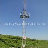 Torretta d'acciaio galvanizzata del cavo di ancoraggio di comunicazione di WiFi