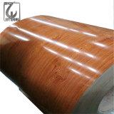 El color 0.5*1250 cubierto prepintó la bobina de acero con el PVC filmada