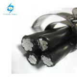 Cavo ambientale di alluminio di ABC isolato XLPE del cavo 4*35