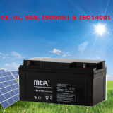Batterie 12V de gel de batterie solaire de marque de MCM Toyama
