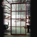 Vidro fixo de madeira de alumínio com barras Colonial