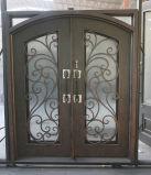De buiten Hete Voordeur van het Smeedijzer van de Deur van het Staal van de Verkoop Met de hand gemaakte