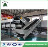 Eliminación industrial móvil de la basura en la gestión de desechos