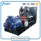 Pomp van de Overdracht van het Overzeese Water van de dieselmotor de Meertrappige Centrifugaal