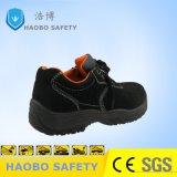Безопасности из высококачественной натуральной кожи рабочая обувь