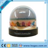De plastic Koepel van de Sneeuw van de Foto met binnen Auto Polyresin (Hg-005)