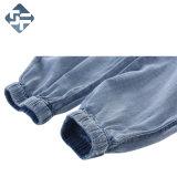 Костюм скачки джинсовой ткани детей сделанный из хлопко-бумажная ткани 100%