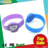 Türverschluss-Kennzeichengummisilikon MIFARE klassischer 1K RFID Wristband