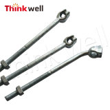 Galvanized Forged Curved Bolt Strand Triples Eye Anchor Rod