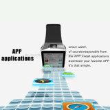 3G impermeabilizan el teléfono elegante del reloj de Digitaces/de Bluetooth con la supervisión de salud Qw09