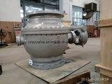 Acciaio di getto di DIN/GB Pn16 Dn600 per la valvola a sfera del perno di articolazione del gas
