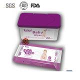 Proben geben FDA prüften Soem-Baby-Wischer frei