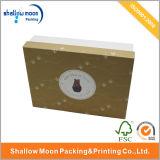 Caja de regalo de papel reciclada hecha a mano de la venta caliente (QYZ061)