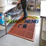 산성 Resistant Rubber Mat 또는 반대로 Slip Kitchen Mats/Drainage Rubber Mat