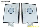 15W luz de calle solar del jardín integrado LED con el sensor de movimiento