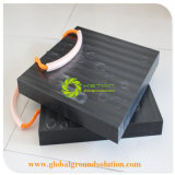 Tampon de grue en PEHD en plastique noir Fabricant/PEHD Outrigger Pad/Mobil Crane Outrigger Pad