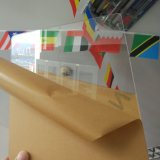 folha acrílica transparente desobstruída de 20mm