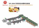Sistema de Alimentação de waffle com máquina de embalagem Horizontal