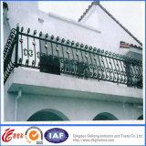 Подгонянные оптовые загородка балкона ковки чугуна/Railing балкона