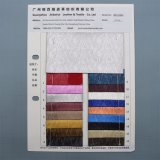 Mosaik-Satin synthetisches PU-Leder für Beutel-Schuh-Dekoration