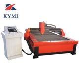 Hohe Präzisions-preiswerte Metallplatten CNC-Plasma-Ausschnitt-Maschine Kmp1530