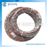 11.5mm 40 Beads Rubberized Granite Diamond Wire Saw