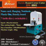 La ronda de la esquina de PVC eléctrico Rounder máquina cortadora de corte redondeado