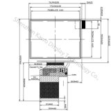 Module LCD 3,5 pouces 320*240 pour équipement de contrôle industriel, Ka-TFT035OE001