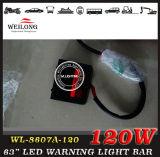 120 LED 65 '' Traffic Advising Emergency Strobe Lightbar