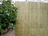 Valla simple de bambú de cara en China