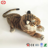 Simulation Jumbo Sitting Tiger Animal Realistic Soft Stuffed Toy