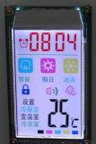 Display de módulo vertical TFT LCD de 3,5 polegadas com luz de fundo de 6 LEDs